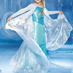 Ultimate -Frozen- Blue Elsa costume size 14
